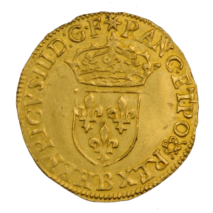 Henri III ecu d'or 1585 Rouen