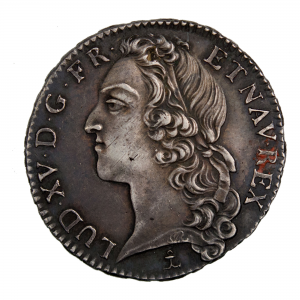 Louis XV demi ecu 1761 Dijon
