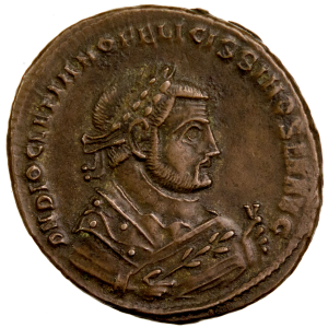 Diocletian AE Follis Serdica 305-306