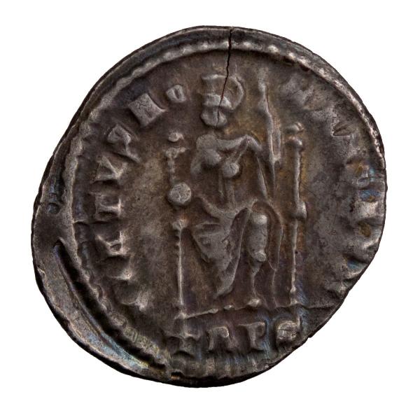 Magnus Maximus silique frappé à Trêves en 384-8