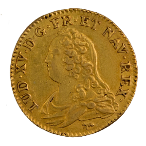 Louis XV louis aux lunettes 1726 Paris