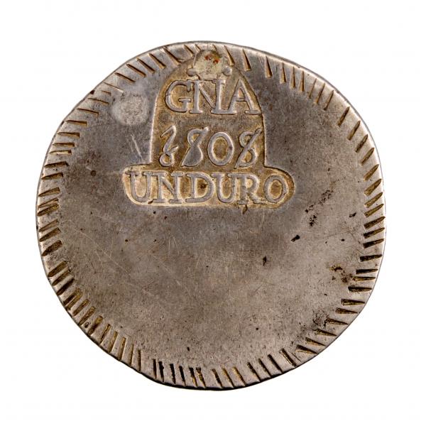 Espagne Gerone Duro Argent 1808