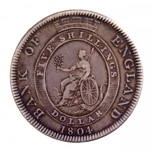 GB George III Dollar 1804