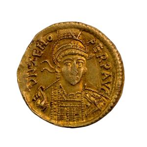 Zenon solidus frappé à Constantinople