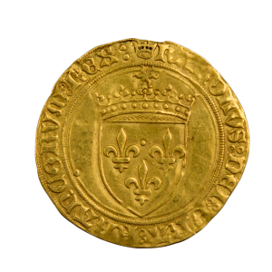 Charles VIII Ecu d'or au soleil frappé à Paris