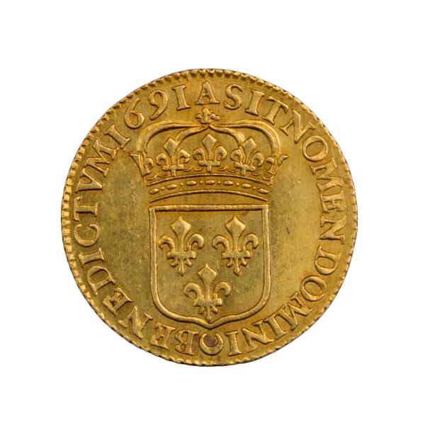 Louis XIV Louis à l'écu Paris 1691