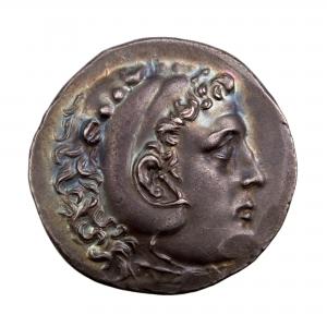 Macédoine Alexandre III Tetradrachme frappé à Phaselis (Lycie)