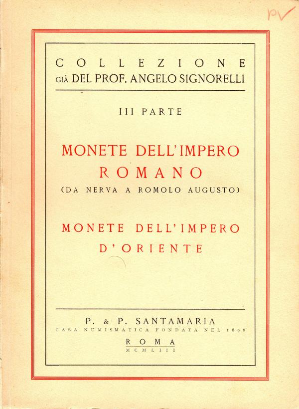 vente Signorelli 13 mars 1953