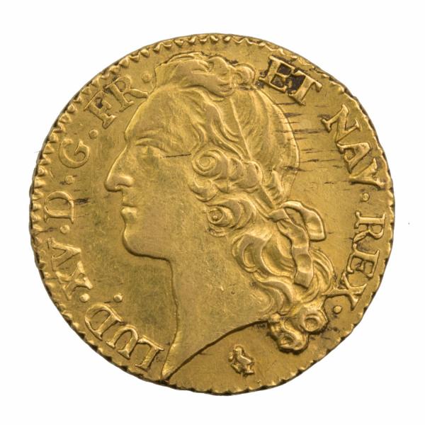 Louis XV louis au bandeau 1768 Paris