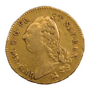 Louis XVI double louis 1787 Rouen
