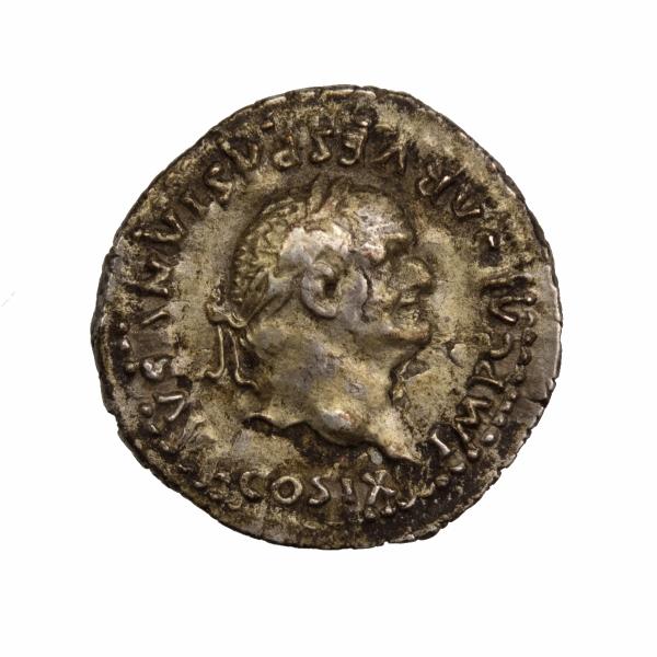 Vespasien Quinaire frappé à Rome 75-79