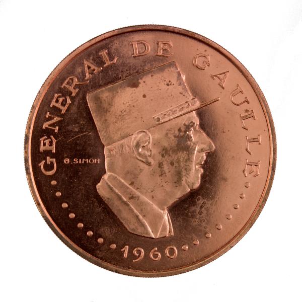 Tchad 10000 francs De Gaulle Essai 1970
