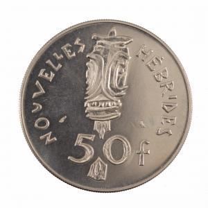 Nouvelles Hebrides 50 francs 1972 Essai