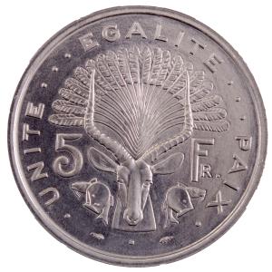 Djibouti 5 francs 1977 Essai