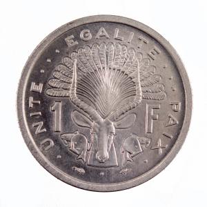 Djibouti 1 francs 1977 Essai