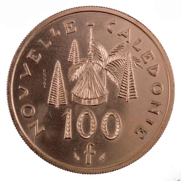 Nouvelle Caledonie 100 francs 1976 Essai