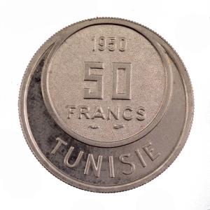 Tunisie 50 francs 1950 Essai