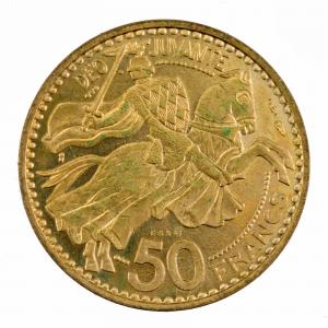 Monaco 50 francs 1970 Essai