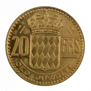 Monaco 20 francs 1950 Essai