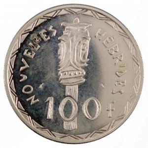 Nouvelles Hebrides 100 francs 1966 Essai