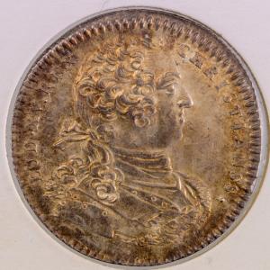 Tresor royal jeton 1758