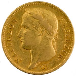 Napoléon I 40 francs 1808 Paris