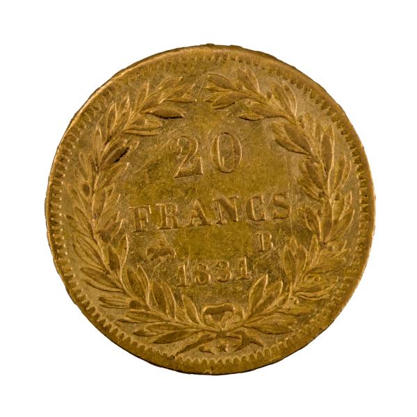 Louis Philippe 20 francs 1831 Rouen