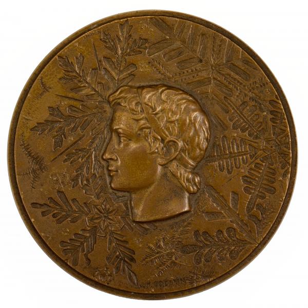 Medaille Jeux Olympique de Grenoble 1968 bronze