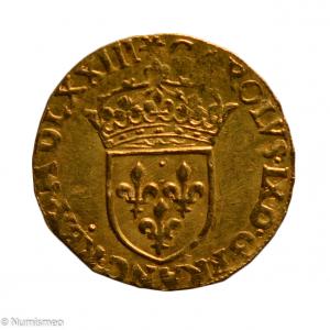 Charles IX Ecu d'or 1573 Paris