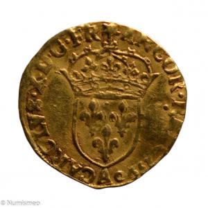Charles X Ecu d'or 1590 Paris
