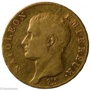 Napoleon 40 francs An 14 Paris