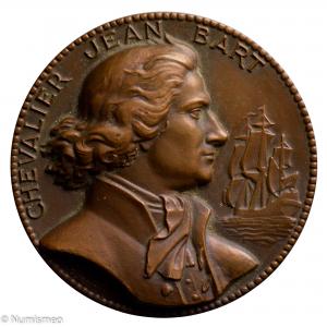 Médaille navire de ligne Jean Bart