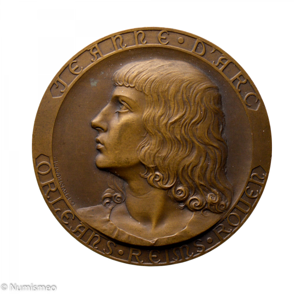 Médaille Croiseur école Jeanne d'Arc