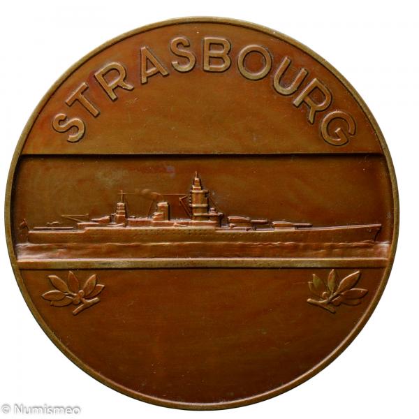 Médaille navire de ligne Strasbourg