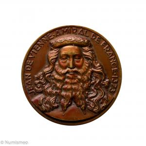 Médaille croiseur Jean de Vienne