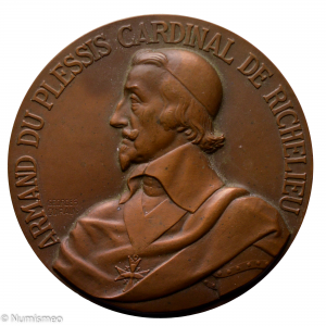 Médaille Cuirasse Richelieu