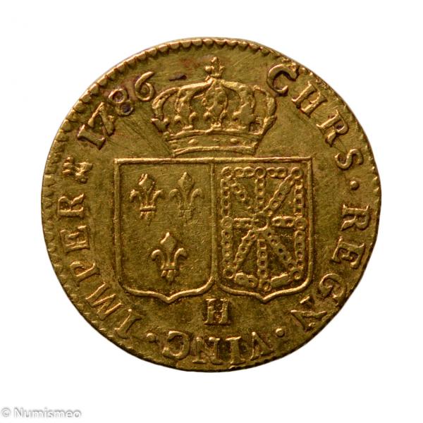 Louis XVI louis 1786 La Rochelle