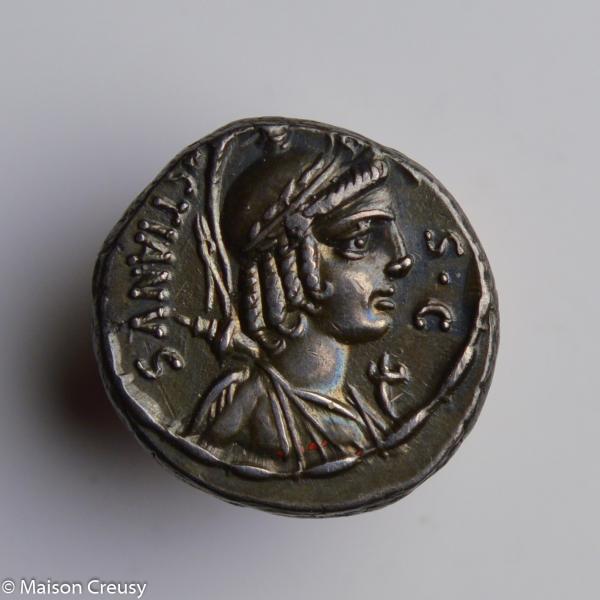 Plaetoria denier frappé en -67