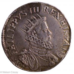 Milan Philippe III d'Espagne Ducatone 1608
