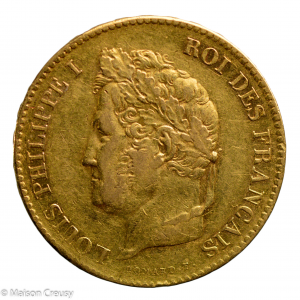 Louis Philippe 40 francs 1834 Bayonne