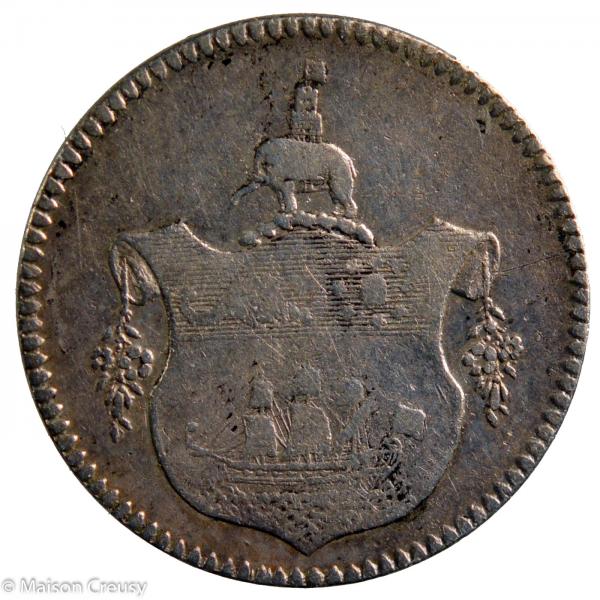 Cote de l'or Britannique Tackoe 1796