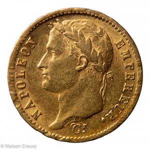 Napoleon I 20 francs 1808 Paris