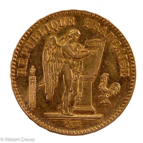 IIe République 20 francs 1848