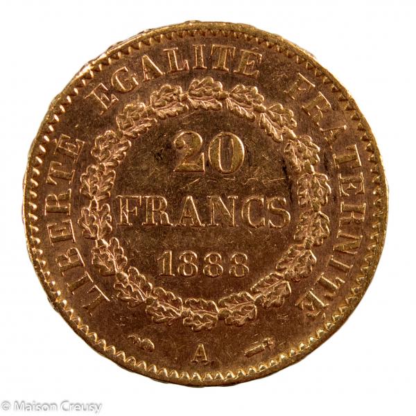 IIIe république 20 francs 1888
