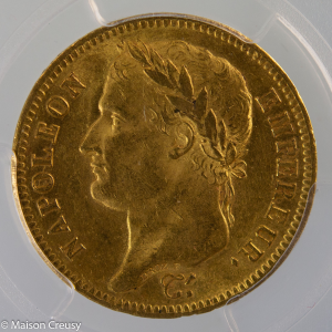 Napoleon I 40 francs 1813 Paris PCGS MS61