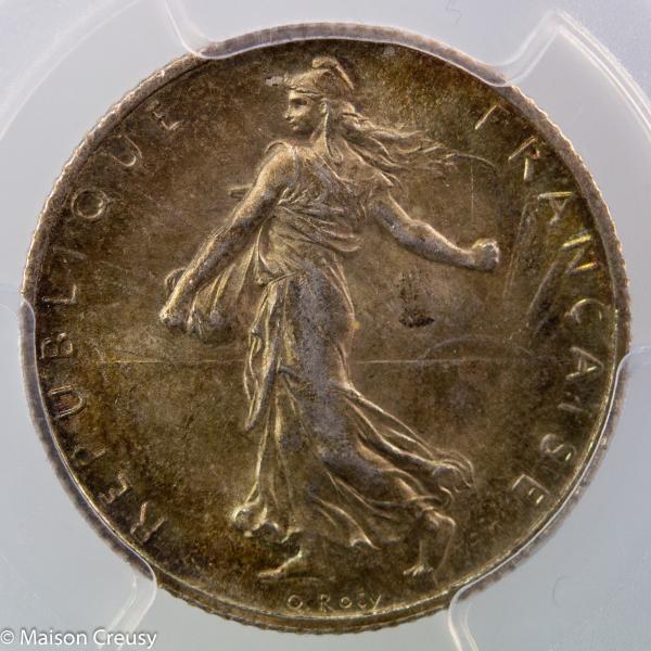 1 franc 1898 PCGS MS63