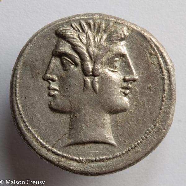 République Romaine didrachme quadrigatus