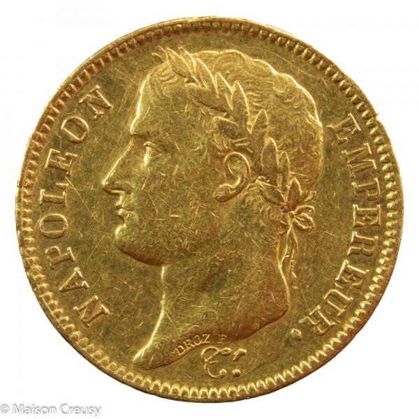 Napoleon I 40 francs 1807 Paris