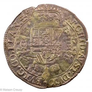 Flandre Charles II Patagon 1671 Bruges