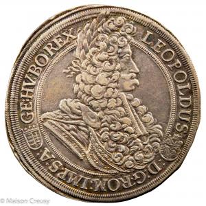Hongrie Leopold I Thaler 1696 Kremnitz